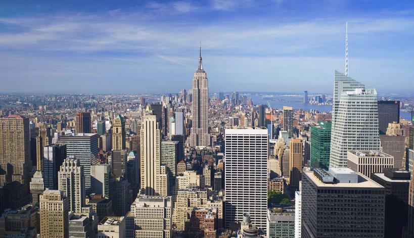 美景,天际线,城市风光,标志建筑,城市,大厦,地标,建筑,摩天大楼,纽约