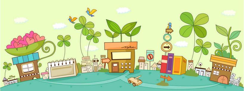 叶子,阴影,网络,房屋,屋子,绿叶,高光,几何,计算机图形,合成,图画