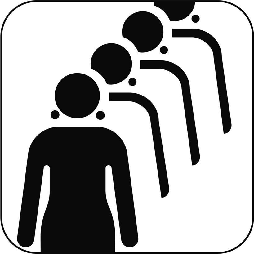 四个人,站,方图,黑白,插画,室内,白天,白色背景,数码,科技,一排,阴影