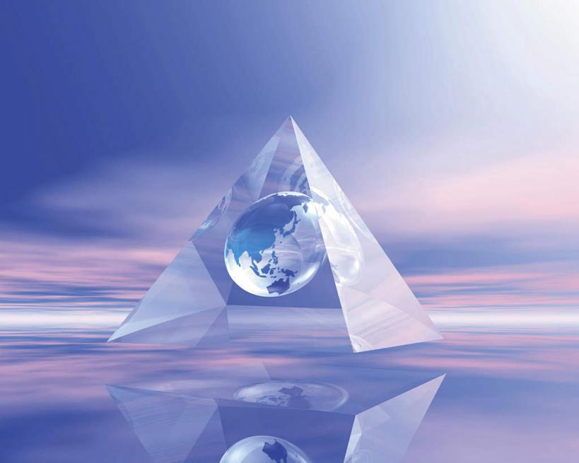 三角形 世界地图