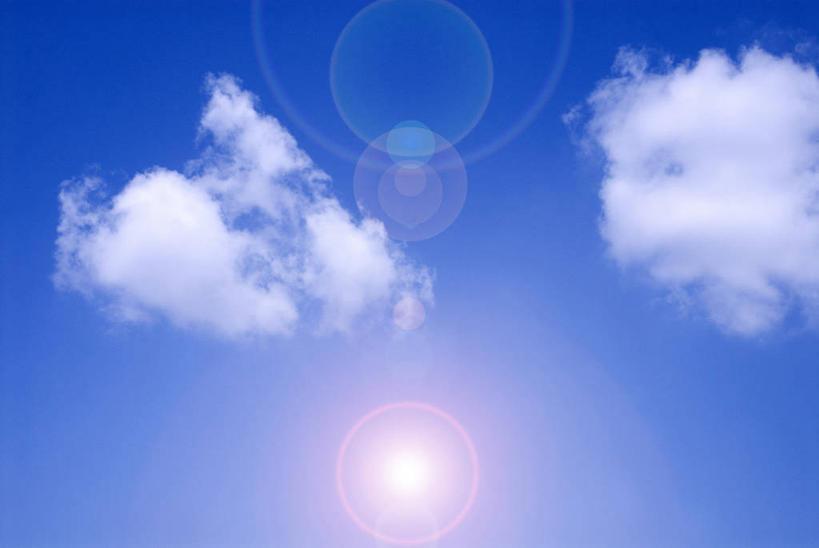 天空手绘高清无水印