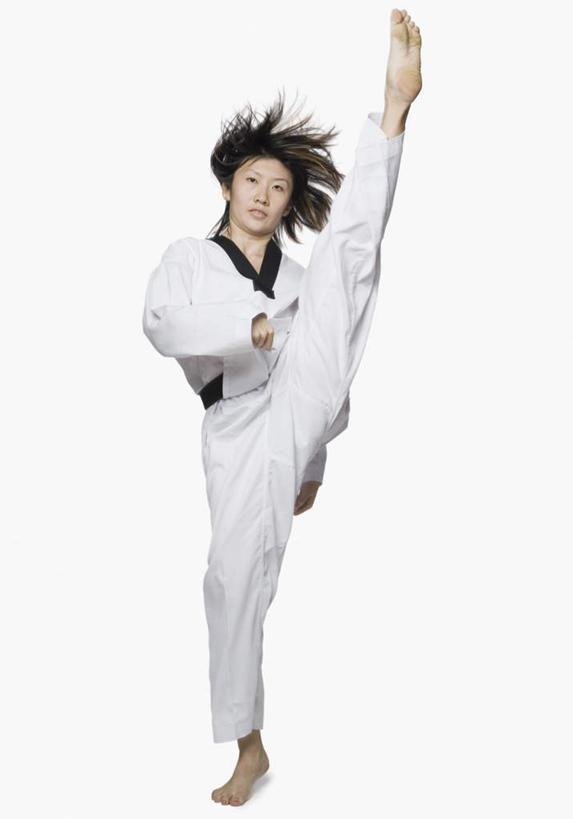 跆拳道黑带素材
