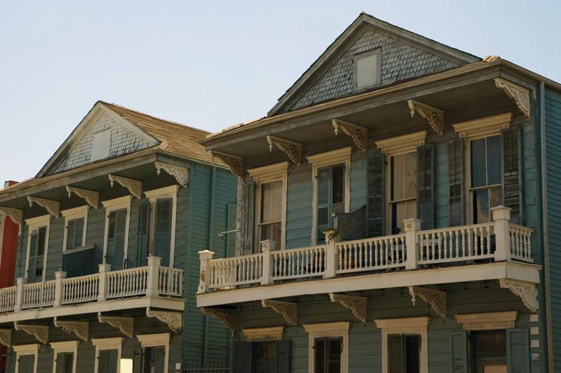 家,栏杆,露台,横图,室外,白天,仰视,度假,美景,别墅,阳台,城市风光