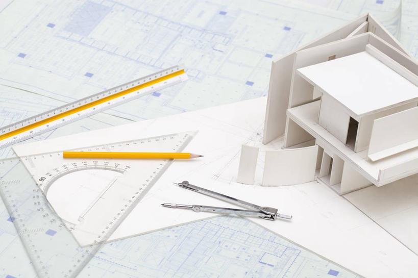 房屋,办公用品,利益,设备,物品,尺,模型,铅笔,圆规,职业,团体,创意