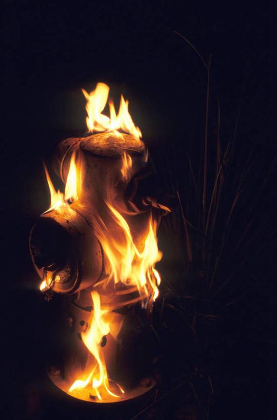 加绒火焰素材水印