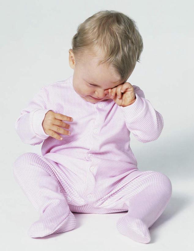 可爱小孩侧面图