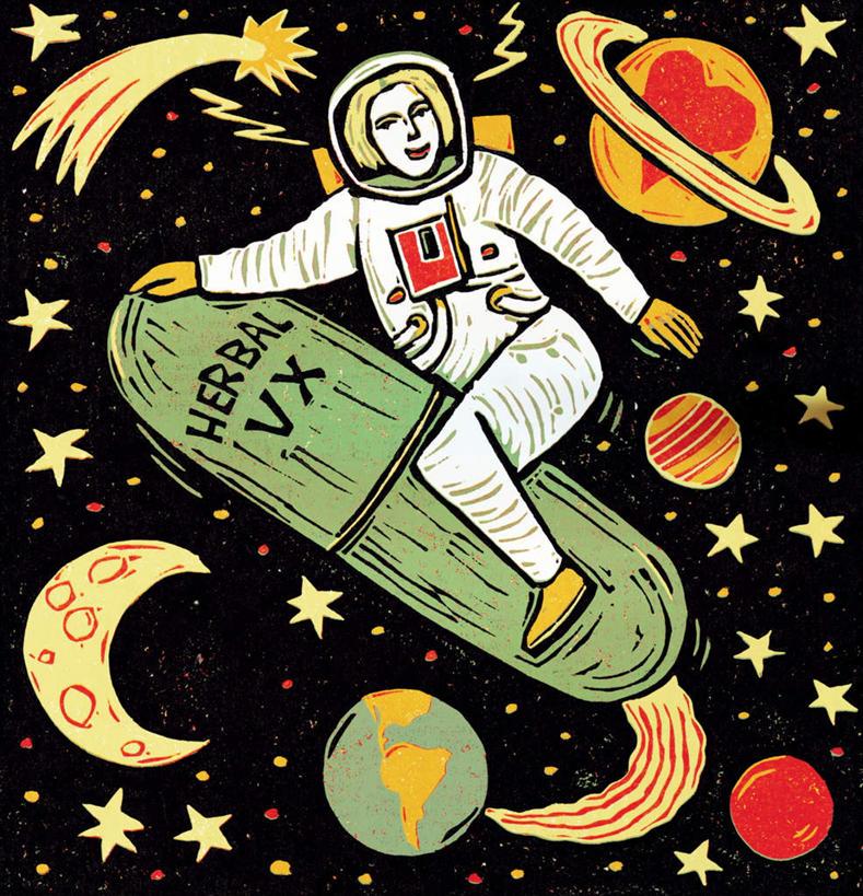 宇宙星球可爱图画