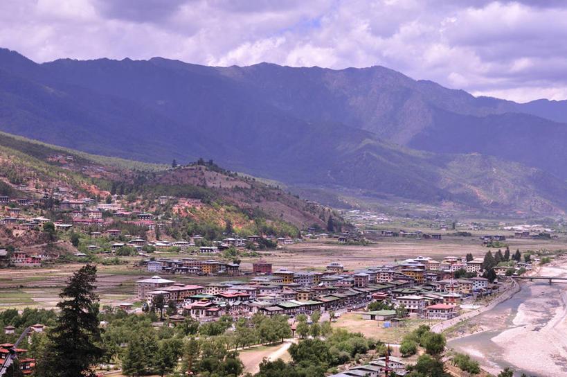 山脉,不丹,亚洲,景观,乡村,云,历史,树,天空,自然,景色,摄影,自然风光