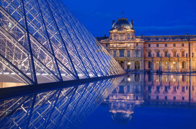 金字塔型的建筑