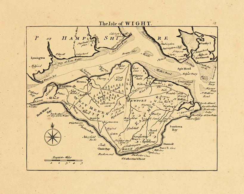 无人,横图,地图,英国,欧洲,历史,古董,怀特岛,彩图