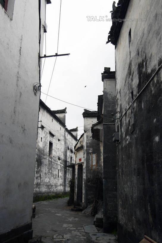 房屋,墙,屋子,景观,石板,小路,小巷,电能,交通,线路,娱乐,江西,婺源