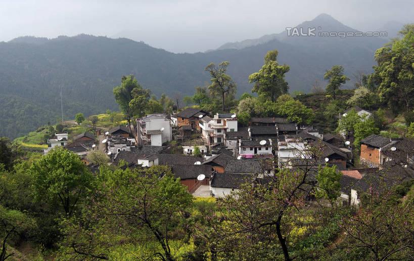 无人,家,横图,俯视,室外,白天,旅游,度假,美景,山,山脉,树林,植物