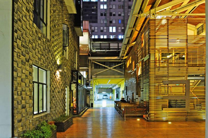 植物,窗户,城市风光,城市,建筑,路灯,夜景,照 淘图客Talki