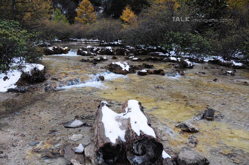干枯的河流高清素材