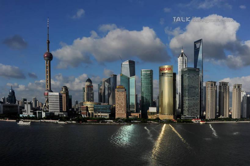 欧式建筑 上海夜景