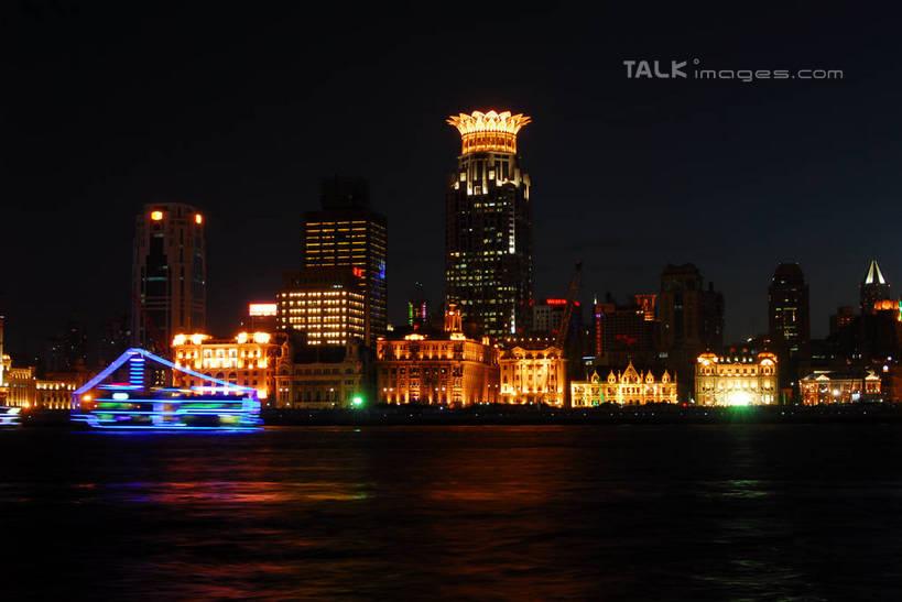 城市,大厦,地标,建筑,摩天大楼,霓虹灯,夜景,上海,中国,亚洲,阴影