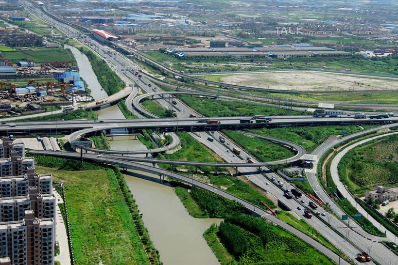 树林,水,植物,城市风光,城市,大桥,大厦,道路,建筑,路,摩天大楼,桥梁