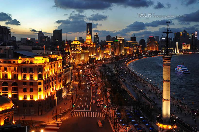 日落,水,天际线,植物,城市风光,标志建筑,城市,大厦,道路,地标,建筑