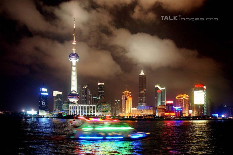 無人,高樓大廈,橫圖,彩色,室外,夜晚,正面,長時間曝光,度假,河流,美景