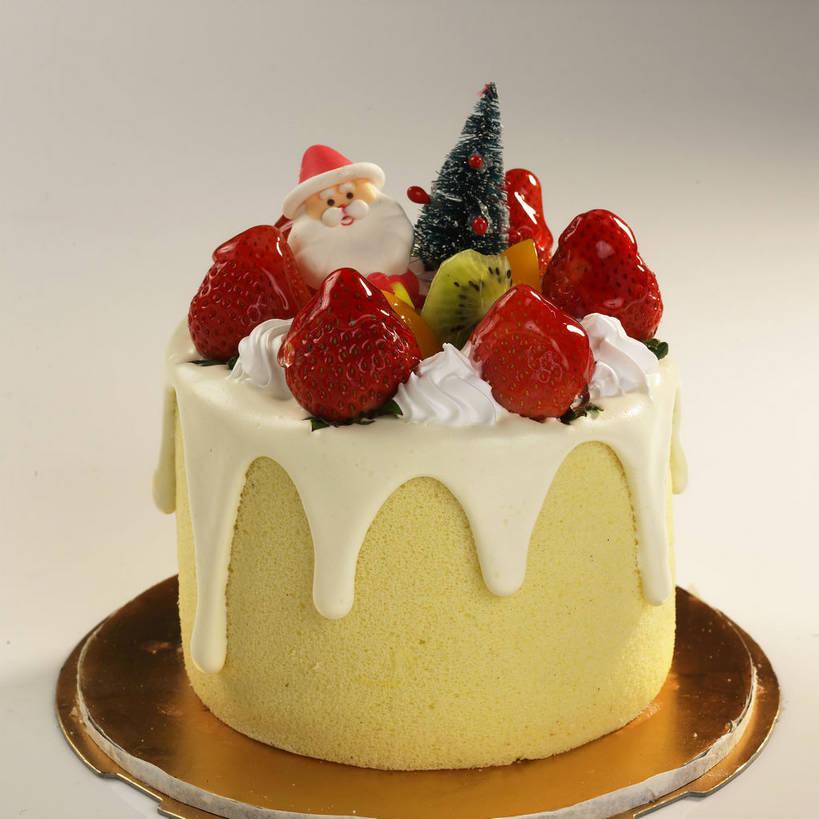 圣诞蛋糕,食物
