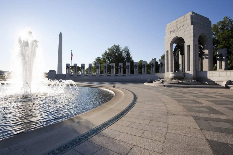 标志建筑,城市,地标,建筑,喷泉,华盛顿,美国,遗迹,图片,纪念碑,建筑群